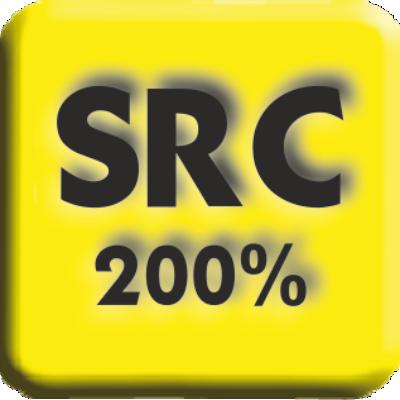 200% SRC (Anti-escorregamento)